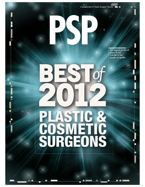 PSP 2012 Best Plastic and Cosmetic Surgeon Award